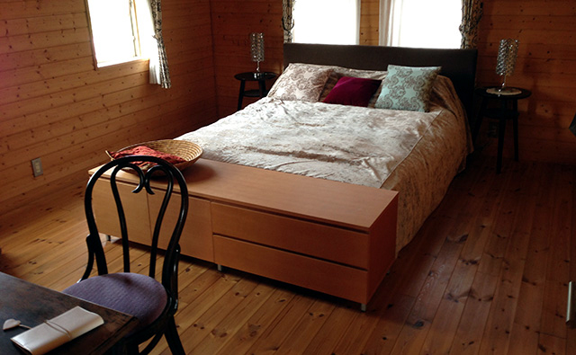 BESSのワンダーデバイス寝室