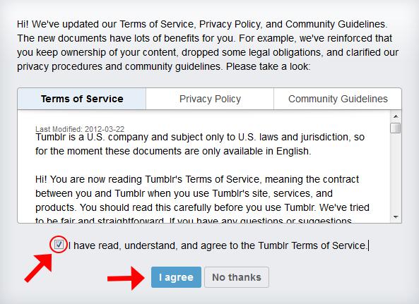 tumblr利用規約